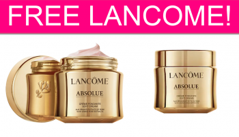 FREE Lancome Absolue Soft Cream by Mail!