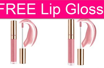 FREE Organic/Vegan Lip Gloss!