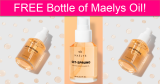 Completely FREE Maely's Stretch Mark Oil!