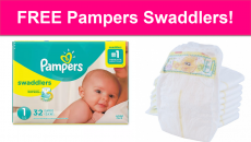 Completely FREE Pampers Swaddlers Diapers!