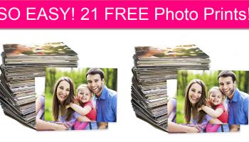 SO EASY! 21 FREE Photo Prints!