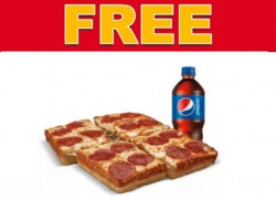 FREE Lunch Combo at Little Ceasars Pizza !