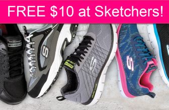FREE $10 at Sketchers!