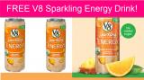 TOTALLY FREE V8 Sparkling Energy Drink!
