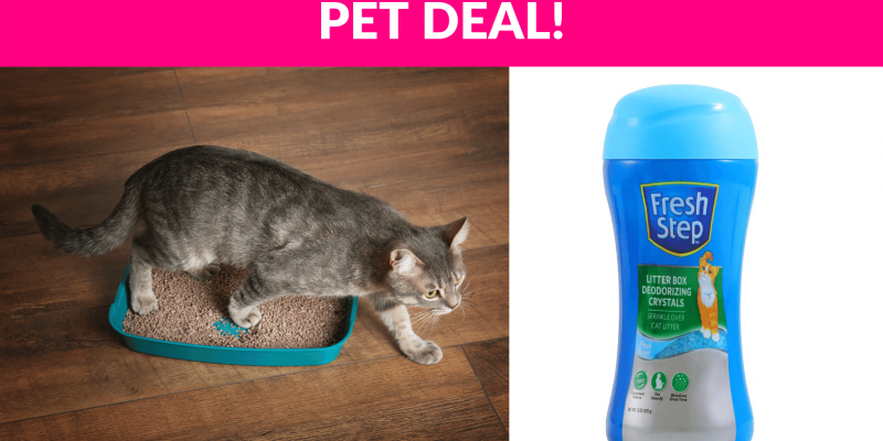 63% OFF! Fresh Step Cat Litter Crystals