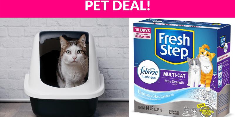 51% OFF! Fresh Step Cat Litter