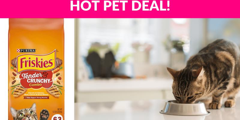 44% OFF! Purina Friskies Dry Cat Food