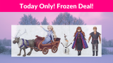 38% OFF! Disney Frozen Sledding Adventures Doll Pack!