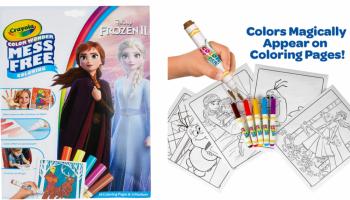 HOT PRICE! Cheap Frozen II Mess Free Coloring Book! *FREE shipping*