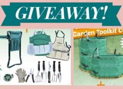 HUGE Garden Tool Giveaway!