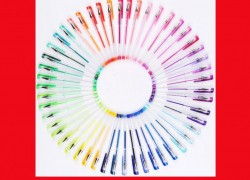 $14.59 (reg $50) 108 Unique Colors Gel Pens
