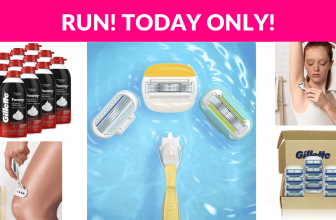 Today Only! Gillette Shave Deals