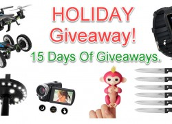 15 Days OF GIVEAWAYS – BY ME!
