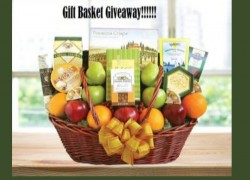 Chance to Win a New Year California Delicious Gift Basket!