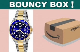 SUPER RARE! Real Gold Watch BOUNCY BOX! [ $79.99 Value! ]