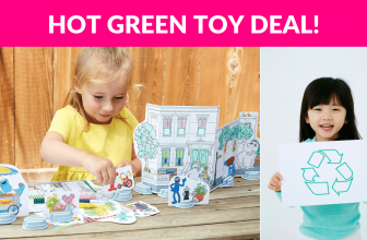 Green Toys Coloring Activity Set