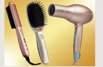 Enter To Win a THE KISS GOLD SERIES HAIR TOOL BUNDLE!
