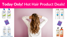 Today Only! Hot Deals On Hair Care Products