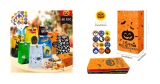 Cheap 40 Piece Halloween Treat Bags & Stickers!