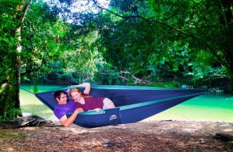 Wow!  EcoCamp Portable Double Camping Hammock Just $11.46!!!!