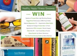 Enter for a HUGE Fitness and Wellness Giveaway Package!!! Lots of amazing products!!