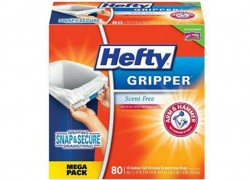 80-ct Hefty Trash Bags Only $9.79