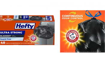 Hefty Trash Bags 40 Count – HOT PRICE! *FREE Shipping*
