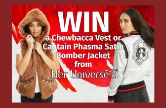 Chance to Win a Chewbacca Vest or Captain Phasma Satin Bomber Jacket!