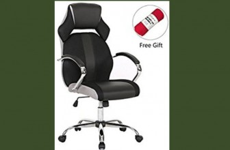 BOUNCY BOX! Leather Office Executive Chair!