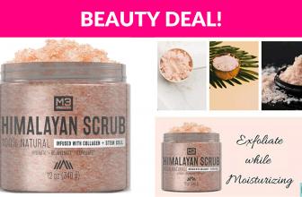 58% OFF! M3 Naturals Himalayan Salt Scrub
