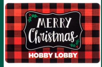 $50 Hobby Lobby Gift Card Giveaway