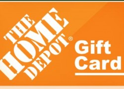Enter To Win a $3,000 HOME Depot Gift Card !