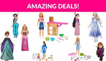 Hot Deals on Disney & Barbie Dolls