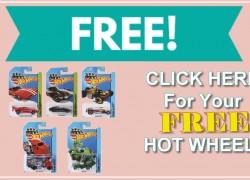 FREE HOT WHEEL Car!