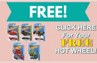 FREE HOT WHEEL Car!