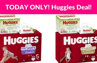 WOW! Huggies Brand Bundle (Up to 30% OFF)