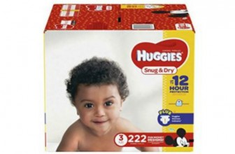 222-ct Huggies Snug and Dry Diapers Just $20.74!