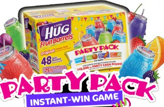 INSTANT WIN! A $2,500 Little HUG Party Cash gift card !