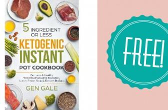 FREE Ketogenic Instant Pot Cookbook eBook