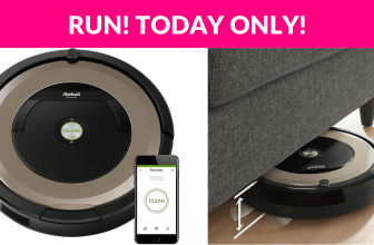 Today Only! iRobot Roomba Hot Deal!