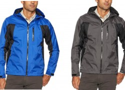 Wrangler Men's Waterproof Rain Jacket  ONLY $12 ( reg. $60 )