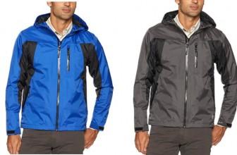 Wrangler Men's Waterproof Rain Jacket  ONLY $12 ( reg. $60 )