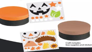 FREE Fall Treasure Box Craft Kit!