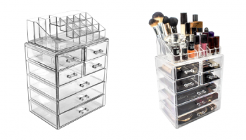 HOT PRICE! Large Jewelry and/or Makeup Box! *Ships FREE*
