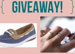 Win 10 Pairs of Ked Shoes and Mejuri Jewelry! $2700 Value