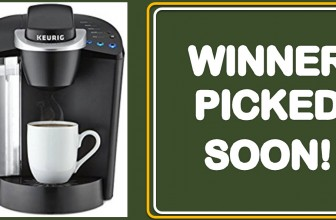 [AMAZON Giveaway] Enter To Win a Keurig K55 K-Classic!