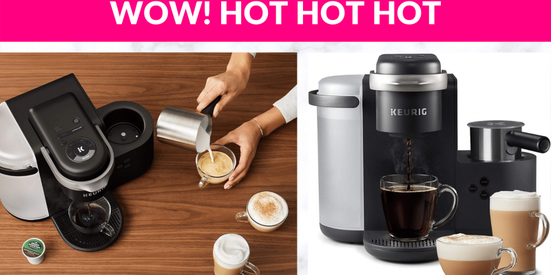 45% OFF! Keurig K-Cafe More Than Just a Coffee Maker.