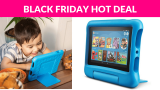 40% OFF! Fire 7 Kids Edition Tablet, 7″ Display, 16 GB, Blue Kid-Proof Case