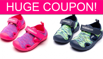 CHEAP Kids Sandals with BIG Coupon Code!