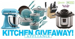 OMG! HURRY ! Win $700 In KITCHEN Appliances from ME!